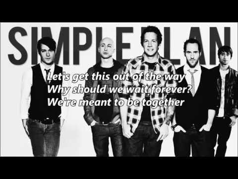 I Don't Wanna Go To Bed By Simple Plan (lyrics)