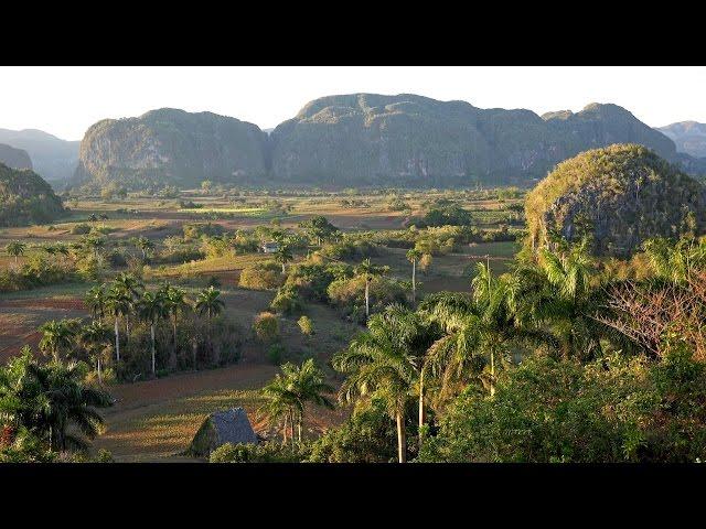 在4K(超高清)的古巴Viñales谷