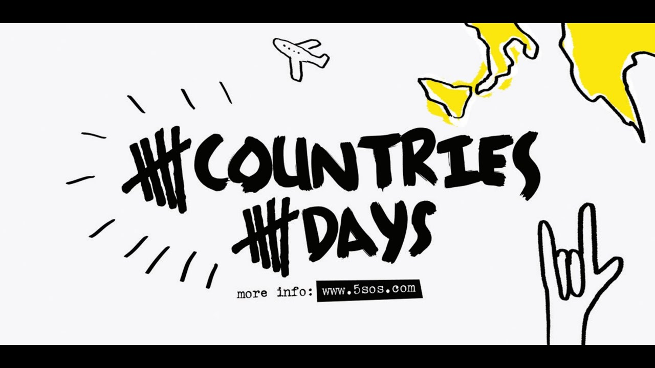 5 Countries 5 Days — 5 Seconds of Summer