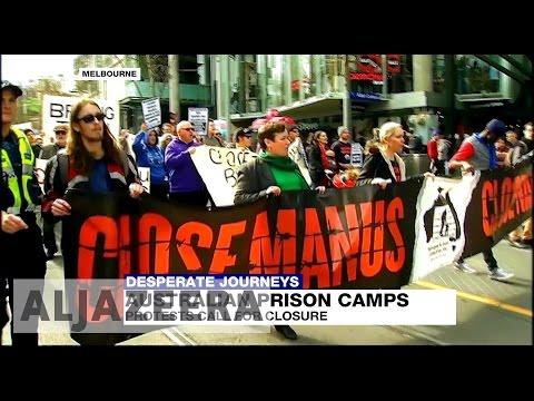 Australians protest against refugee detention centres Mp3