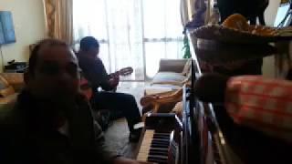 عزف ترنيمة جاء الملاك...بيانو طارق تادرس و جيتار وائل جوزيف