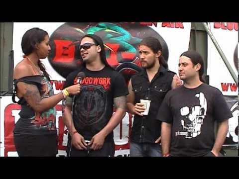 Sight Of Emptiness interview @Bloodstock 2012 with Sophie.K (TotalRock)