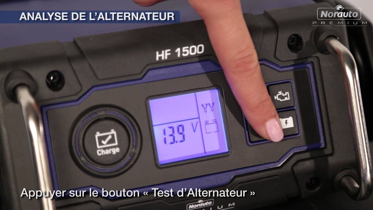 chargeur batterie norauto