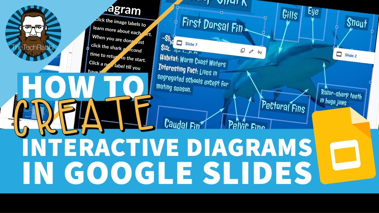 How To Create Interactive Diagrams In Google Slides