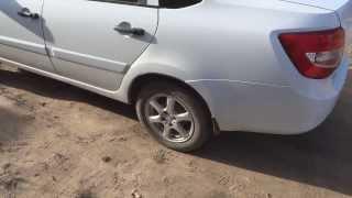 Lada Granta - устраняем скрип в задней части авто.