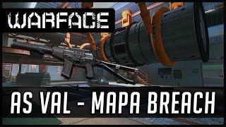 Warface As Val Mapa Breach Capture