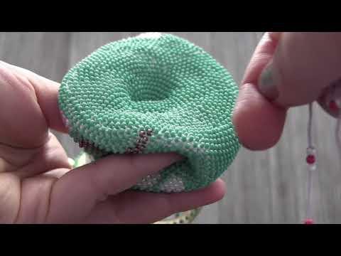 Bead Crochet of Coin Purse, Type 1