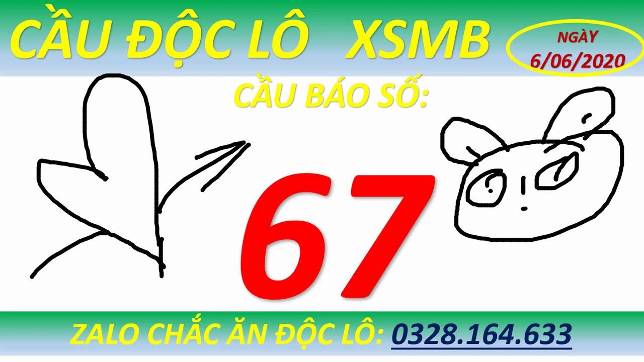Viruss Cầu Độc Lô xsmb 6/06/2020, Soi cầu xsmb, soi cầu 7777,phân tích cầu , lottery24h