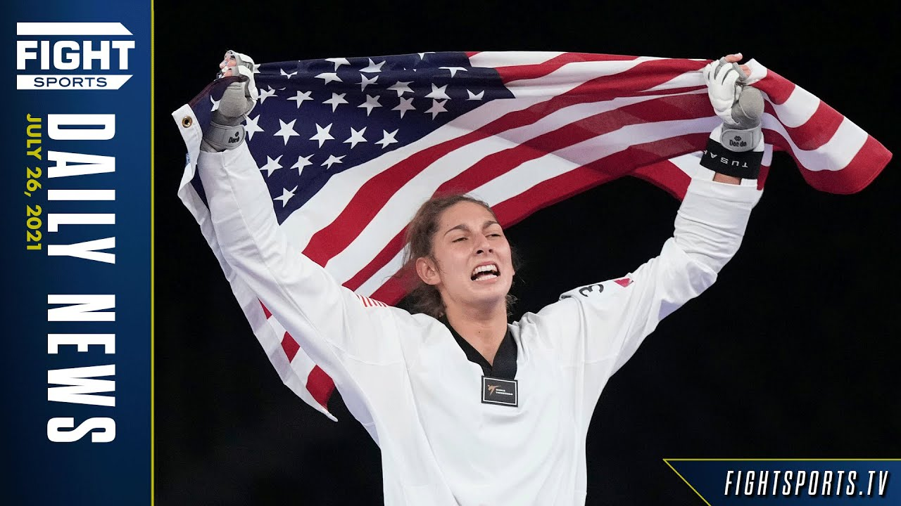 """Team USA""""s Ana Zolotic made Olympic History in Taekwondo, USA Boxing Opens Strong   FIGHT SPORTS"""
