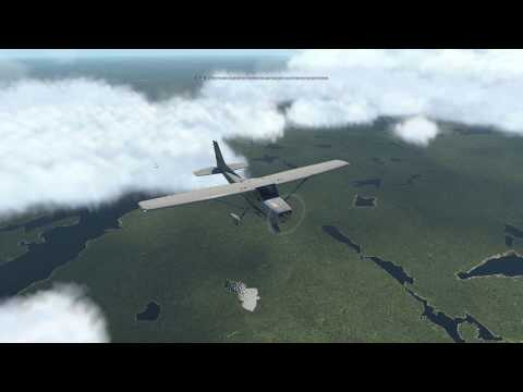 Let's Fly: X-Plane 11...with FSEconomy! -- Cessna 172 CYEM to CYXZ -- 2/2