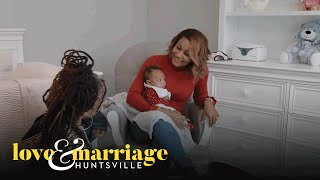 Melody and Her Sister Reflect on Troubled Past | Love and Marriage: Huntsville | OWN