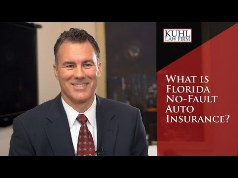 What is Florida No Fault Auto Insurance?