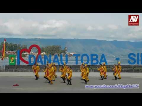 Lomba Senam Tao Toba Nauli di Pantai Bebas Parapat - I Love Danau Toba