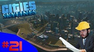 A EXPANSÃO DA MALHA FERROVIÁRIA!!! - Cities Skylines (Industries) #20 - (Gameplay / PC / PT-BR)