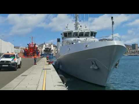 Nigerian Navy's newest Offshore Survey Vessel, NNS LANA departs Spain for Gambia