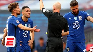 Chelsea lost FA Cup because of the ref, but he's not the reason Arsenal won - Steve Nicol | ESPN FC