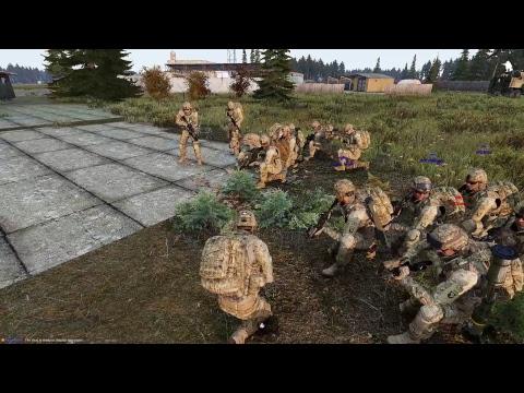 Havoc 3 Platoon Training - 506th IR RU Arma 3 Co-Op Gameplay