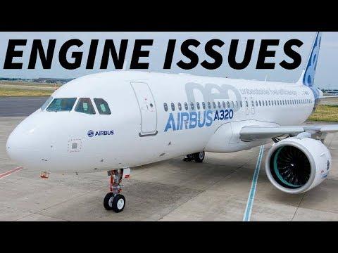 ENGINE PROBLEMS with Pratt & Whitney GROUND A320neos
