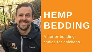 Hemp bedding and chickens. For cleaner eggs try hemp bedding in your coop!