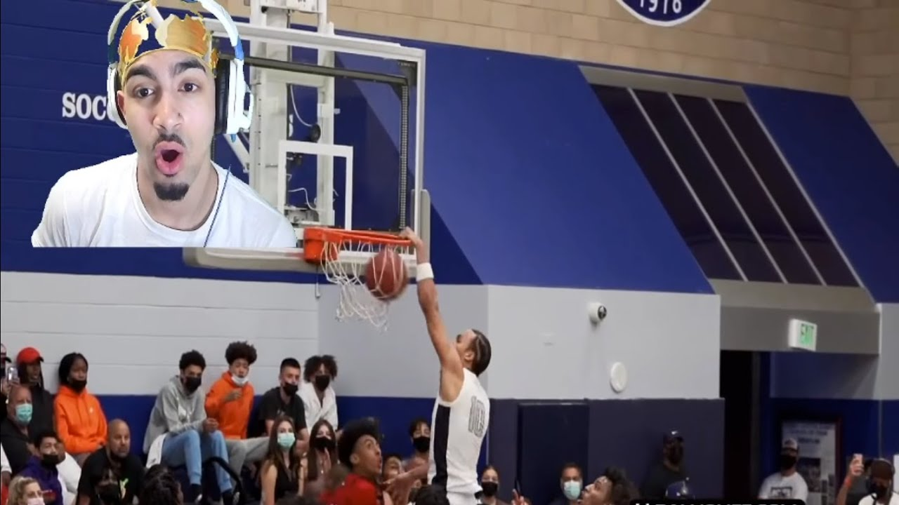 Download Drake and Lebron Watch Bronny's First Game Back for Sierra Canyon and Amari Bailey GOES OFF!!!