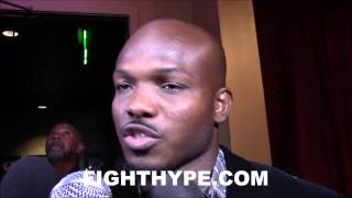 TIMOTHY BRADLEY ADMITS HE'S NERVOUS ABOUT
