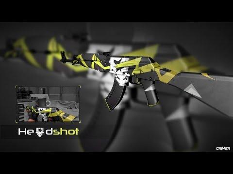 Speed Art CS:GO Skin AK-47 | Headshot