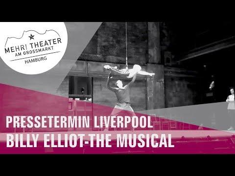 BILLY ELLIOT - THE MUSICAL Schwanensee Proben in Liverpool