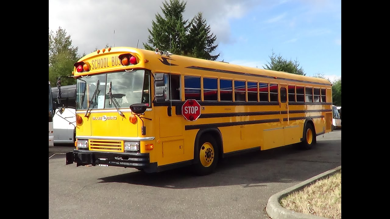 Northwest Bus Sales Used 1992 Blue Bird All American Rear Engine 81  Passenger School Bus B48741