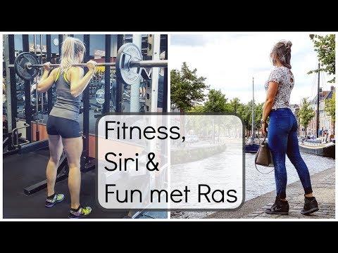 Vlog #46 - Fitness, Siri en Fun met Rasheeda
