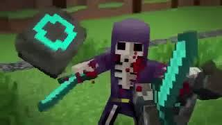 minecraft animasyon gece golgenin rahatina bak