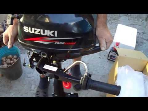 SUZUKI  Df2.5s обзор лодочного мотора)