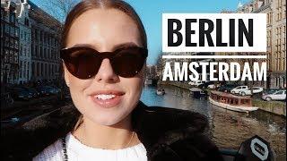 Амстердам и Берлин. Мой первый влог