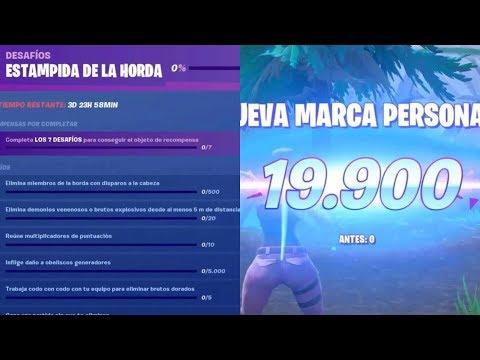 GANA CON UNA PUNTUACIÓN DE EQUIPO DE AL MENOS 50.000 (FASE 1,2,3 Y 4) - Desafios FORTNITE