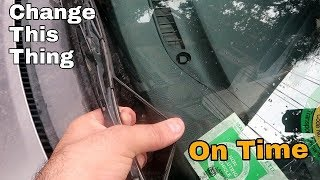 Wiper Blades Replacement | Small Tip For Rainy Season | Driving Tips | VBO Life | 2018