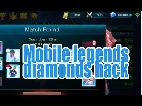 Cara Mendapat Diamond Gratis Di Mobile Legend 100 Work Youtube