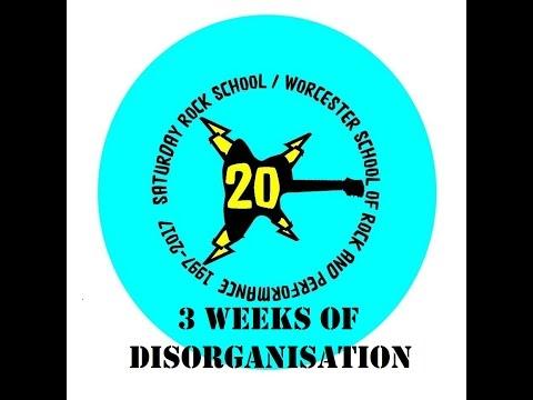 3 Weeks of Disorganisation @ WSRP