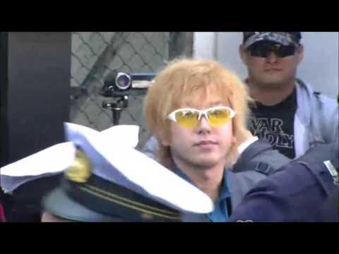 3.20川崎市での街頭演説に謎のゲリラが急襲そこへ助ける大衆で大混乱