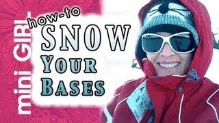 miniGIRL #13: How to Make Snow for Mini's -Fast Tutorial- Bases, Terrain, Transport-Episode 2