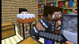 Игра Майнкрафт Онлайн приколы в школе