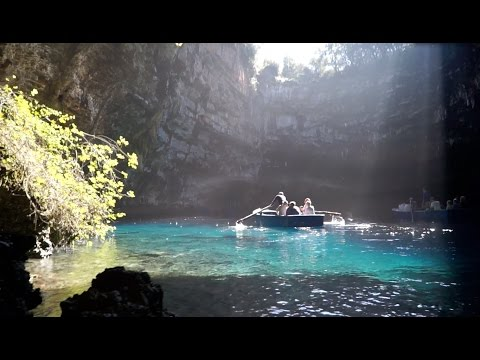 the magic of Melissani Lake