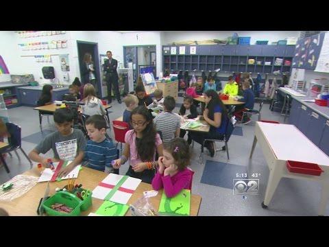 Bilingual Students Buddy Up In Program At Suburban School
