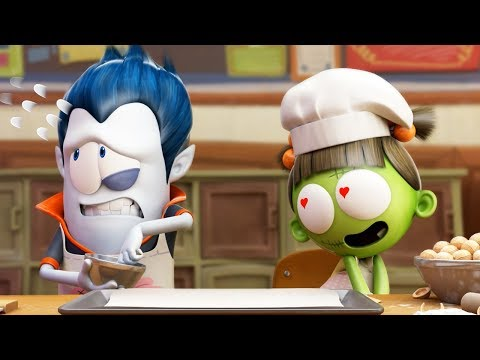 Funny Animated Cartoon   Spookiz   I Can't Take My Eyes Off You   스푸키즈   Cartoon for Children