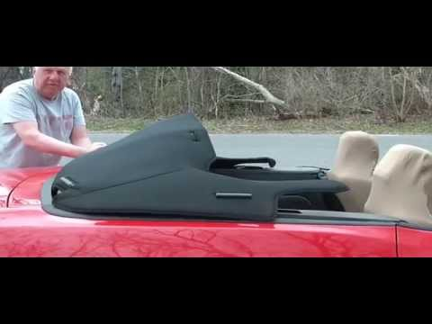 mustang convertible boot cover installation 2005 2014. Black Bedroom Furniture Sets. Home Design Ideas