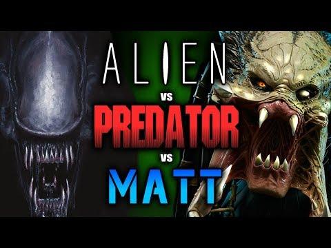 Alien vs Predator Vs Matt - AVP Requiem (ft. Maximilian)