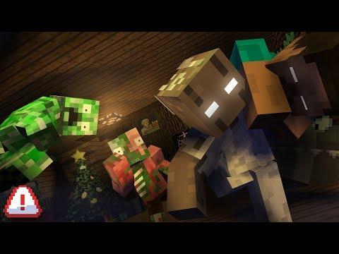 Monster School Special : Granny Strike Back On Christmas! - Minecraft Animation
