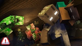 Monster School Special : Granny strike back on Christmas! - Minecraft Animation