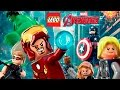 LEGO Marvel Avengers Pelicula Completa Español | Los Vengadores - Todas las Cinematicas (Game Movie)