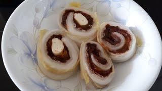 백김치 곶감말이ㆍ달콤시콤 그리고 홍시맛ㆍ이색적인 맛조합