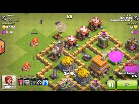 Clash of Clans | The Art of Clan War - Ep 3 - Giant Healer (TH6)