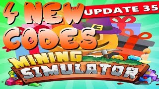 🎁NEW 4 CODES & GIFTS UPDATE🎁 | Mining Simulator | Roblox